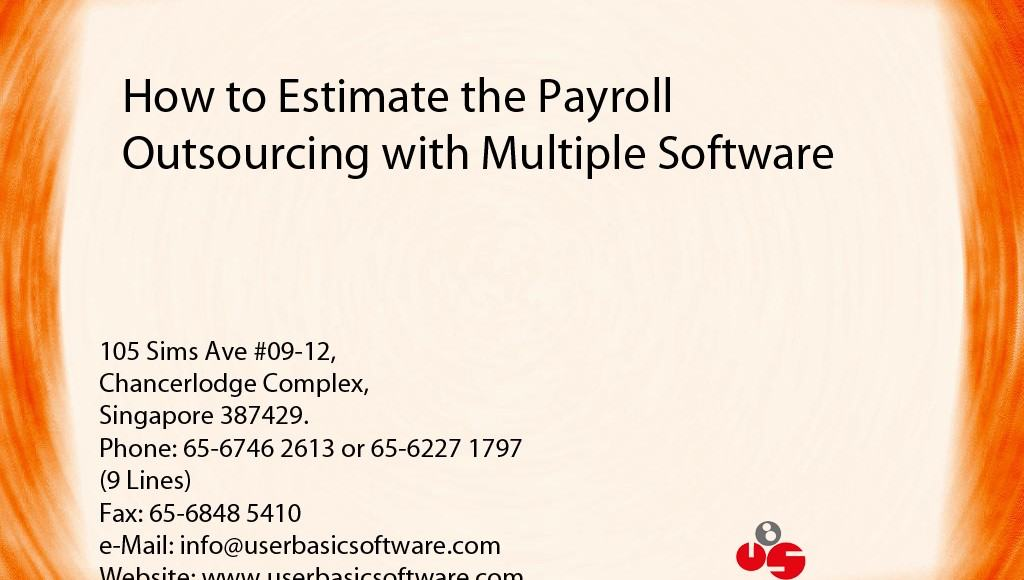 How to Estimate the Payroll Outsourcing with Multiple Software 1024x768