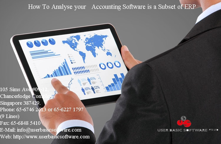 How To Analyse your Accounting Software is a Subset of ERP