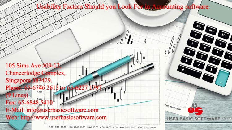 Usability Factors Should you Look For in Accounting software