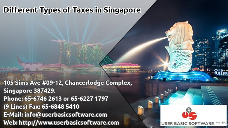 Different Types of Taxes in Singapore