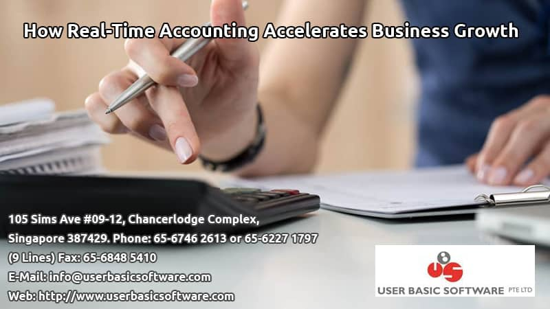 How Real-Time Accounting Accelerates Business Growth