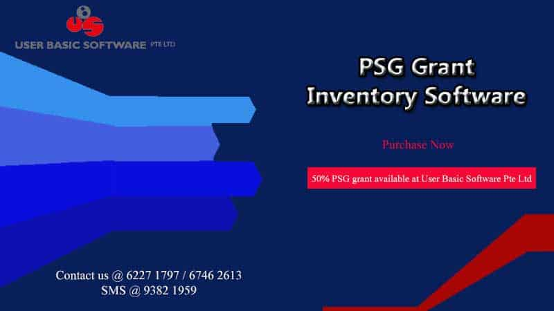 PSG Grant Inventory Software Singapore