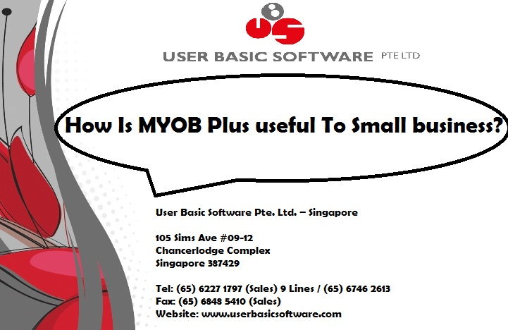 How Is MYOB Plus useful To Small business