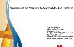 Applications Of The Accounting Software With The Live Processing 1000x750