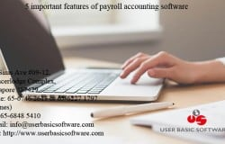 5 important features of payroll accounting software