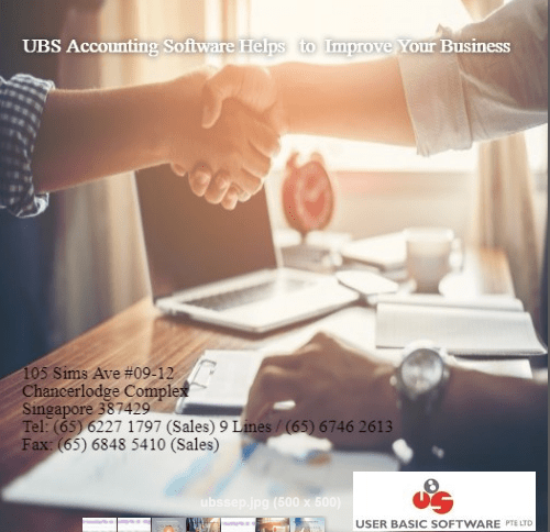 UBS Accounting Software Helps to Improve Your Business