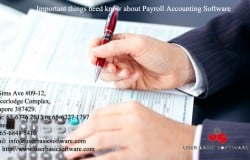 Important things need know about Payroll Accounting Software