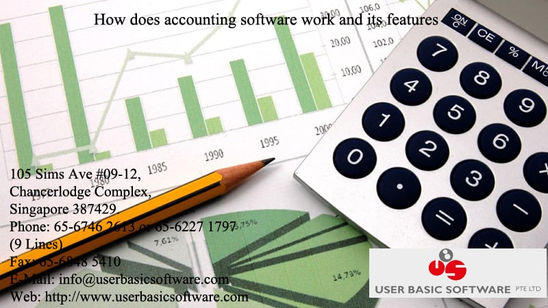 How does accounting software work and its features