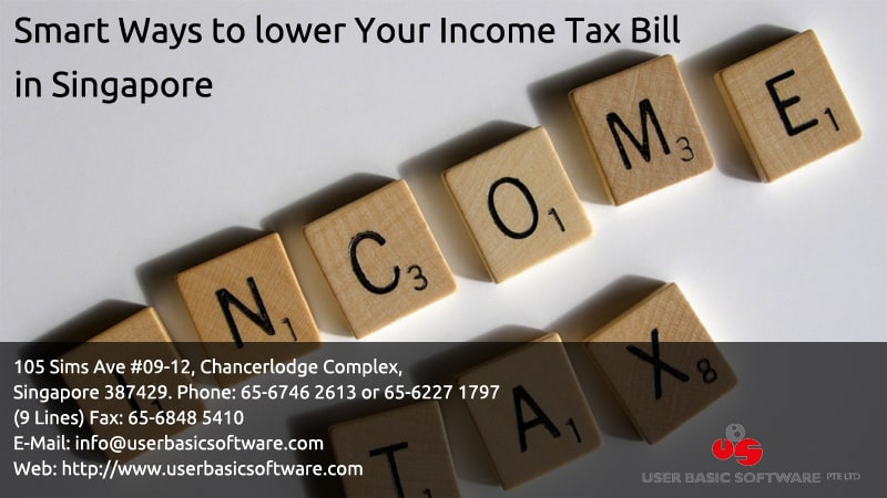 how to get tax bill from singapore
