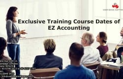 Exclusive Training Course Dates of EZ Accounting