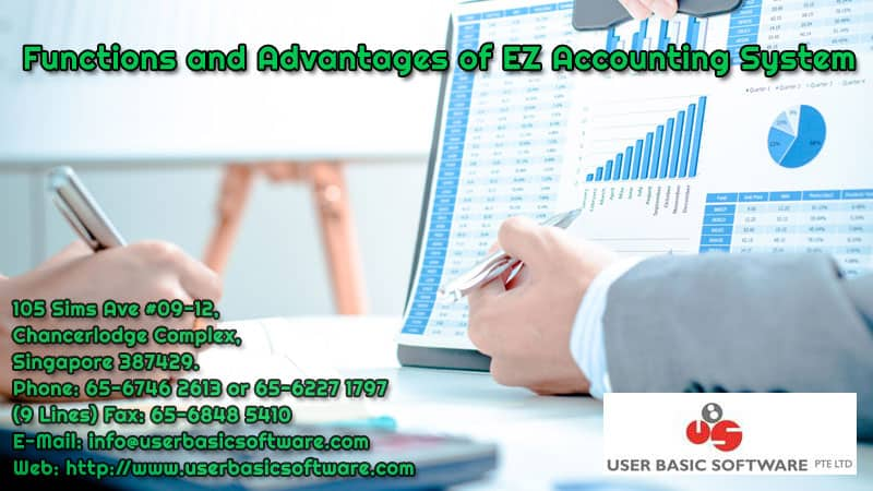 Functions and Advantages of EZ Accounting System