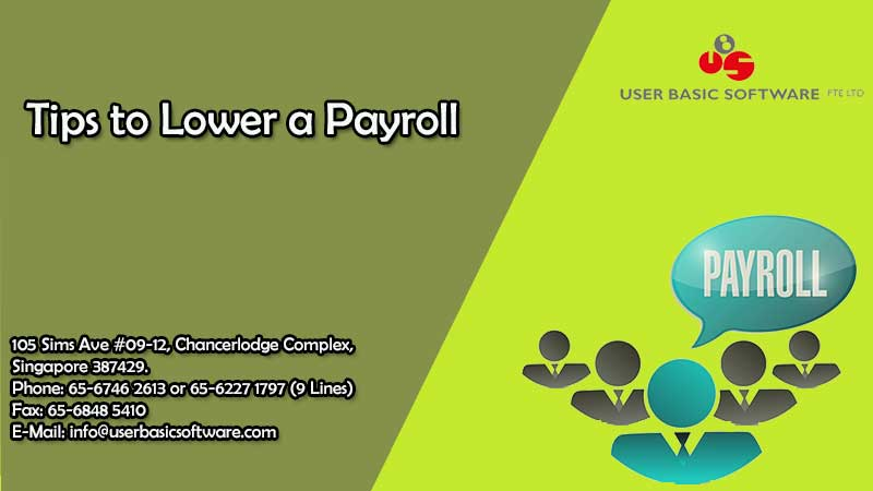 Tips to Lower a Payroll