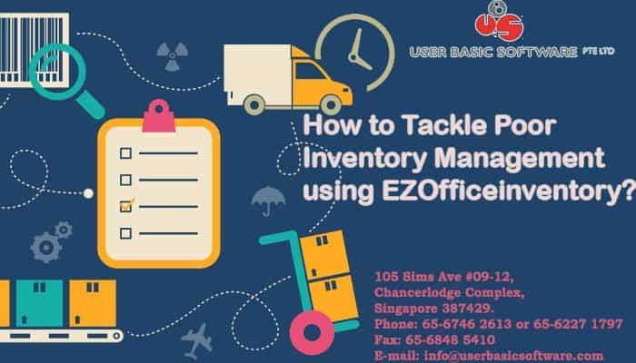 How to Tackle Poor Inventory Management using EZOfficeinventory
