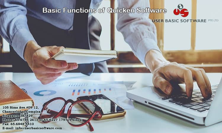 Basic Functions of Quicken Software