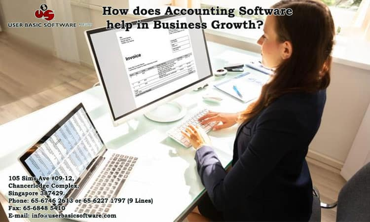 How does Accounting Software help in Business Growth