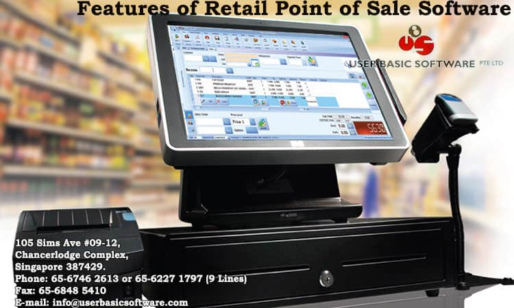 Features of Retail Point of Sale Software