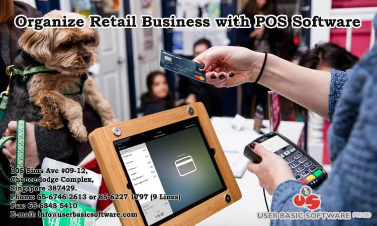 Organize Retail Business with POS Software