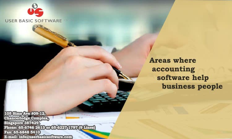 Areas where accounting software help business people