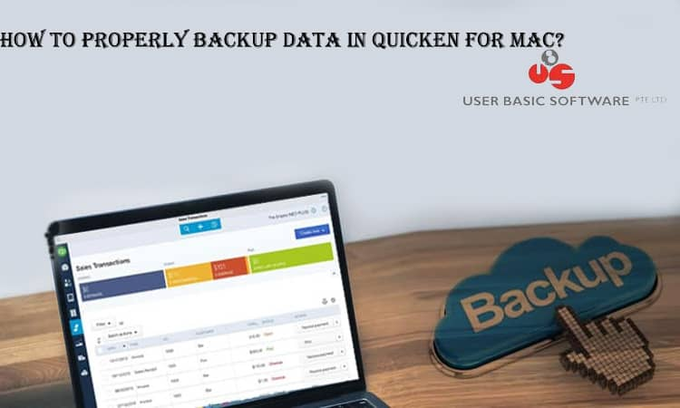 backup data in quicken for mac